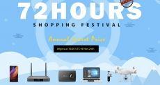 72-часовая распродажа в честь Черной пятницы в магазине Geekbuying.com