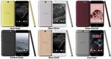 HTC One A9: попытка удивить разноцветной палитрой корпусов