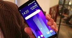HTC U12 в полноэкранном исполнении на рендере