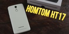 Мини-обзор HomTom HT17: Touch ID, емкая батарея, поддержка LTE и всего $70