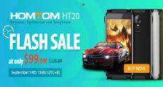 HomTom HT20 - компактный водонепроницаемый смартфон всего за $100