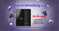 Homtom HT7: 3G-смартфон с 5.5-дюймовым HD-экраном и аккумулятором на 3000 мАч всего за $39.99!