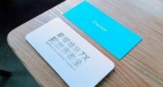 Показали макет смартфона Honor 7X