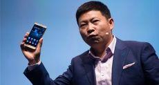 Huawei создаст смартфон с дисплеем простирающимся от края до края