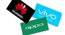 Huawei, Oppo и Vivo снижают темпы производства смартфонов