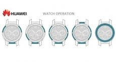 Новые патенты умных часов от Huawei