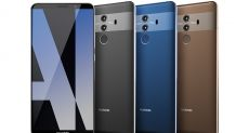 Huawei Mate 10 Pro показали на качественном пресс-рендере