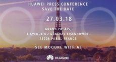 Huawei подтвердила дату анонса Huawei P20