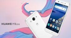 Представлен Huawei Y3 2018 на Android Go