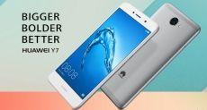 Huawei Y3 2017 и Y7: представлены новинки бюджетного класса