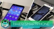 IFA 2017: анонс смартфонов Haier Ginger 7s и Leisure L7