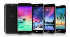 LG объявила сразу пять новых смартфонов