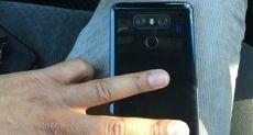 LG G6 показали на «живом» снимке