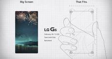 LG G6 на официальном тизере приглашает на презентацию 26 февраля