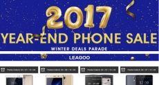 Распродажа смартфонов Leagoo в магазине Gearbest