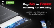 Leagoo заявляет, что предоставляет достоверные данные о емкости аккумуляторов