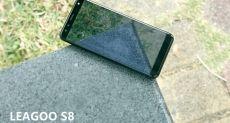 Leagoo S8 на видео показал, чем хорош его безрамочный дисплей