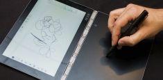 Lenovo Yoga Book получил сенсорную клавиатуру, на которой можно рисовать