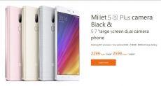 """Xiaomi Mi 5S Plus с экраном 5.7"""" и двумя тыльными камерами Sony на 13 Мп представлен официально"""