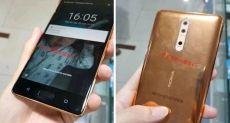 Золотой Nokia 8 показали на фото