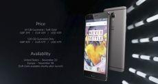 Стали известны цены OnePlus 3T в различных странах