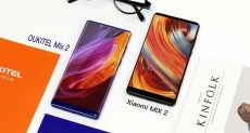 Oukitel Mix 2 и Xiaomi Mi Mix 2: чей дизайн лучше?