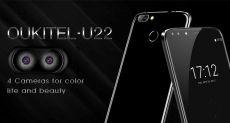 Oukitel U22 — второй в мире смартфон с 4 камерами