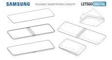 Samsung патентует еще один вариант складного смартфона