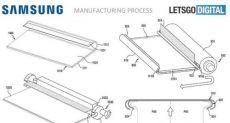 Samsung оформила патент на гибкий смартфон