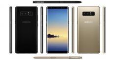 В сети появились подлинные изображения Samsung Galaxy Note 8