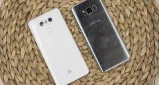 Кто кого: дроп-тест Samsung Galaxy S8 против LG G6