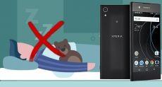 Sony XA1 утратит фильтр синего в следующем обновлении Android Oreo