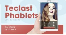 Распродажа планшетофонов Teclast от магазина Gearbest.com