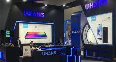 UHANS показала пять смартфонов на выставке Asia World-Expo
