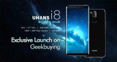 Безрамочный UHANS I8 с функцией распознавания лица за $129,99 на Geekbuying