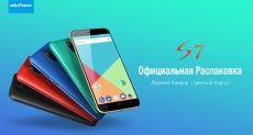 Распаковка Ulefone S7 на видео