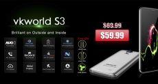 VKworld S3 получил камеру с сенсором Sony IMX149, динамик от Philips и Android 7.0 Nougat