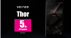 Vernee Thor получает очередное обновление