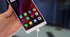 Белый Xiaomi Mi MIX показан на CES 2017