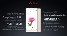 Xiaomi Mi Max 2 с процессором Snapdragon 660 и 6 Гб ОЗУ готовится к дебюту в мае