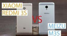 Xiaomi Redmi 3S или Meizu M3S: в поисках лучшего китайского смартфона до $130