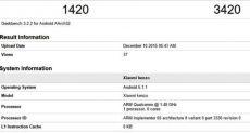Xiaomi Redmi 3 засветился в базе данных бенчмарка GeekBench