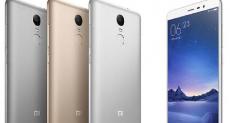 Xiaomi Redmi Note 3 стал лидером онлайн-продаж на рынке смартфонов в Индии