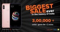 Xiaomi Redmi Note 5 Pro ставит рекорд продаж в Индии. Пользователи не верят в это