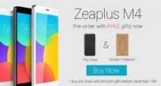Открылся предзаказ на копию Xiaomi Mi4 - Zeaplus Mi4