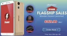 Ulefone Power, Paris и Be Touch 3 в акции от магазина Banggood