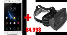 Купите Doogee Y100X за $84.99 в магазине Everbuying.net и получите шлем виртуальной реальности в подарок