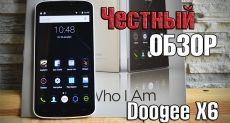 Doogee X6: видеообзор смартфона, где бюджетность решений повсюду
