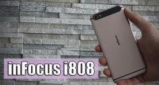 inFocus i808: обзор (распаковка) смартфона, созданного ради флеш-памяти и стиля