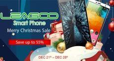 Рождественская распродажа смартфонов Leagoo в интернет-магазине Geekbuying.com